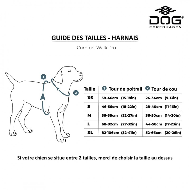 harnais pour chien dog copenhagen walk pro anti traction marche education positive chiot