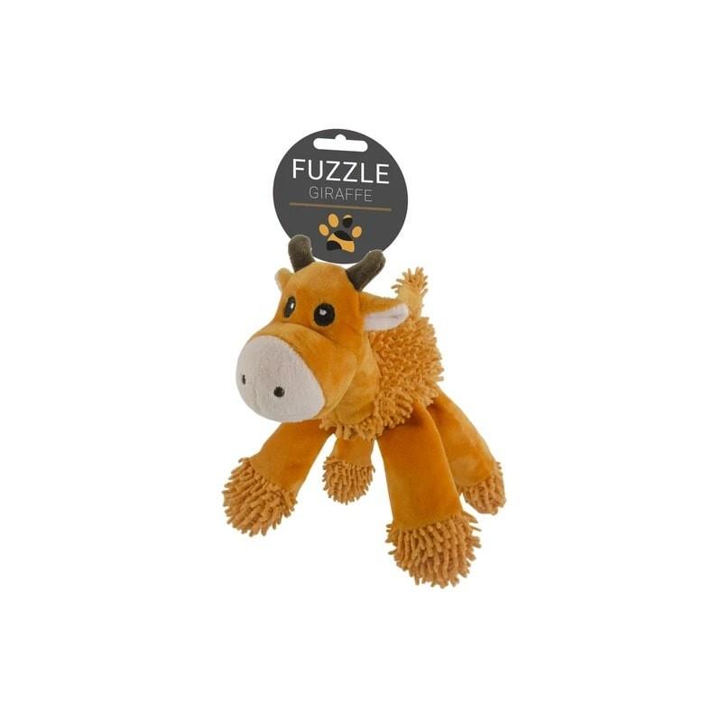 Fuzzle Giraffe peluche pour chien