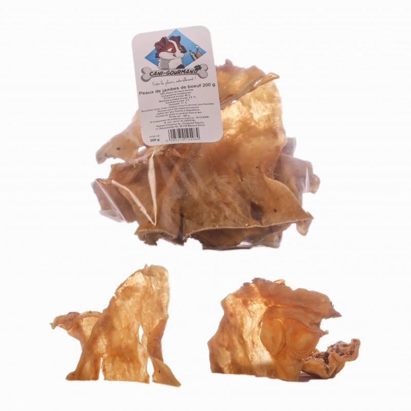 peau de boeuf a macher friandise naturelle pour chien