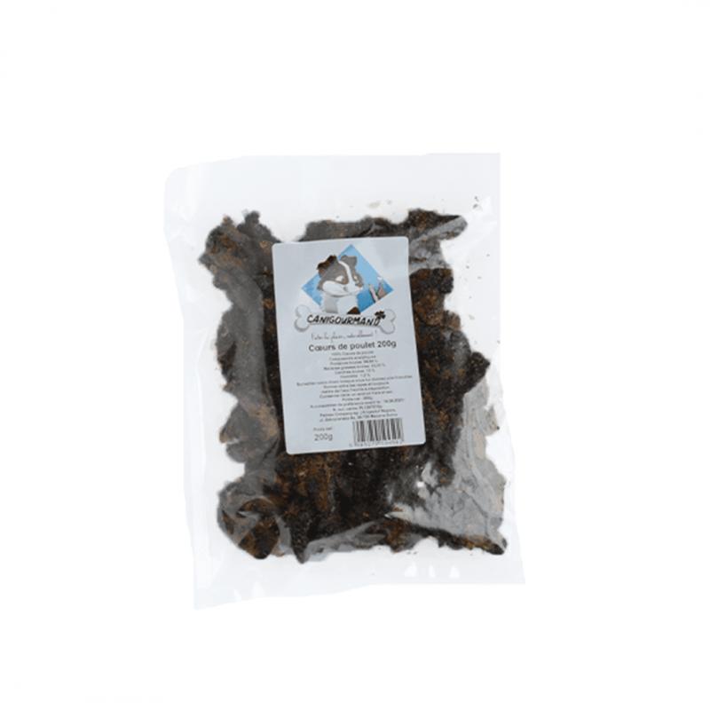 Cœur de poulet à mâcher pour chien friandise 100% naturelle chiot recompense