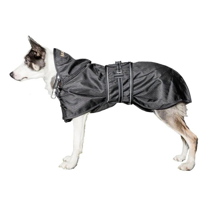 manteau impermeable back on track recuperation chien de sport