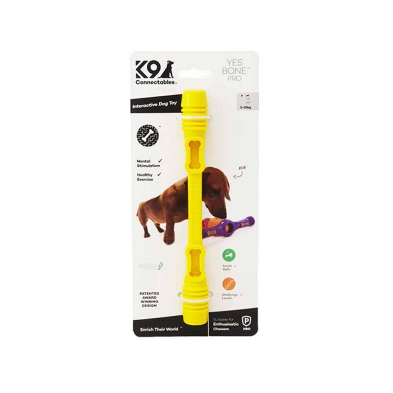 yes bone k9 connectable jouet occupation chien ultra résistant