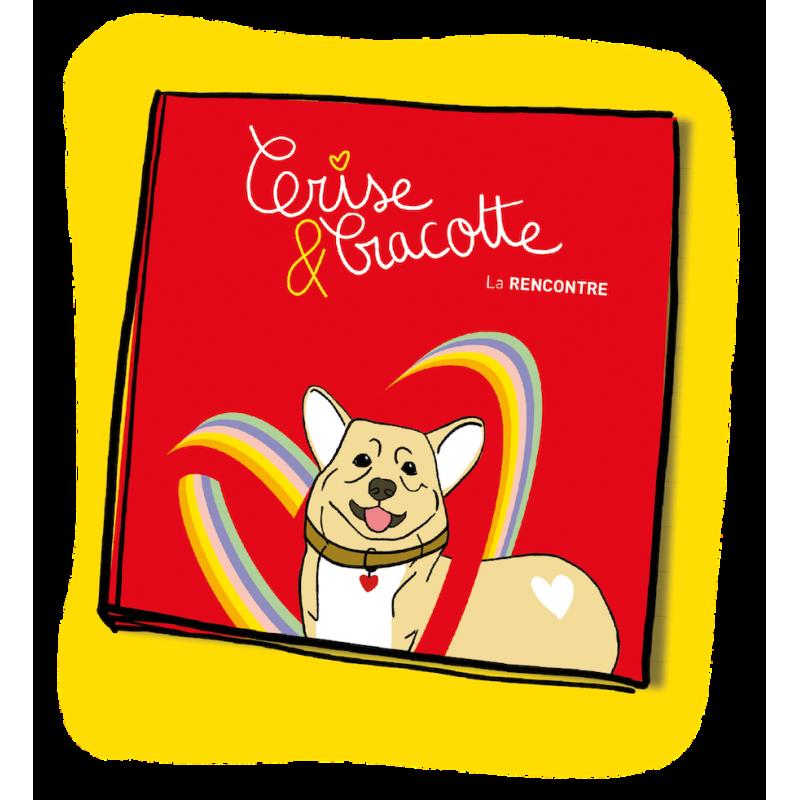 Livre pédagogique pour enfant sur l'accueil d'un chien