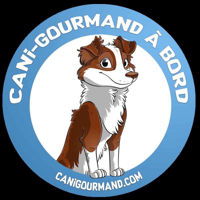 sticker cani-gourmand