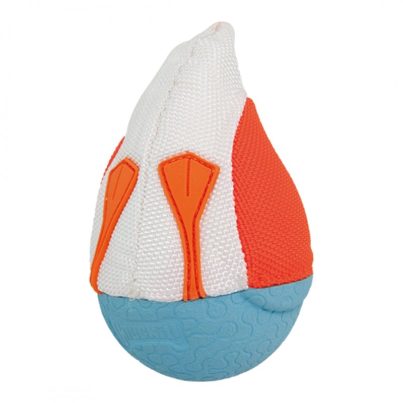 chuckit duck diver medium orange flotteur jouet qui flotte chien eau été
